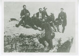 Photo of Milroy and Staff 1863