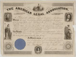 Membership American Legal Association June 14 1851