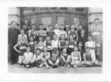 Old Central School boys basketball team 1915