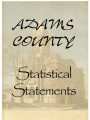Adams County, Indiana Statistical Statement for Blue Creek Township 1920