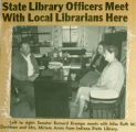 State Library Officers Meet with Local Librarians Here