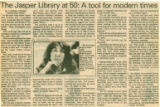The Jasper Library at 50: a Tool for Modern Times