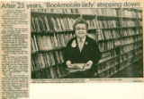 After 25 Years, 'Bookmobile Lady' Stepping Down
