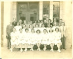 Stork Hospital staff in 1947