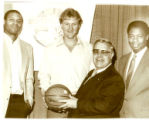 Dale Helmerich with Larry Bird