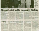 Clinton's visit adds to county history (part 2)