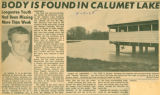 Body is Found in Calumet Lake