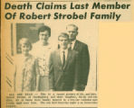 Death Claims Last Member of Robert Strobel Family