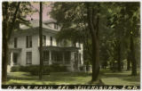Hauss house on Indiana Ave,...