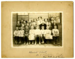 Harrod School No 7 c1910 photograph, Charlestown, Indiana