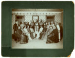 Knights of Pythias c1900 photograph, Sellersburg, Indiana