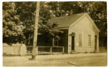 Sellersburg, Indiana post office 1917 post card