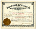 Judge Certificate to Ward H. Watson 26 Nov 1906