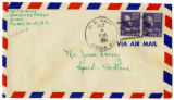 Korean War Letter from Carl E Amos to Jesse G Dorsey 5 Oct 1951