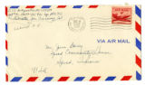 Korean War Letter from E O Ted Bridgewater to Jesse G Dorsey 8 Oct 1953