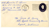 Korean War Letter from Francis C Renn to Jesse G Dorsey 3 Dec 1951