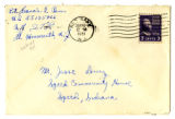 Korean War Letter from Francis C Renn to Jesse G Dorsey 4 Sep 1951