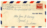Korean War Letter from James R Regan to Jesse G Dorsey 14 Dec 1951