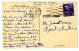 Korean War Letter from Norman LaMaster to Jesse G Dorsey 18 Feb 1952