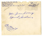 Korean War Letter from Paul D Hinton to Jesse G Dorsey 28 Nov 1951