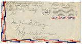 Korean War Letter from Paul D Makowsky to Jesse G Dorsey 7 Jul 1951