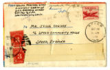 Korean War Letter from Ralph E Prather to Jesse G Dorsey 4 Oct 1951