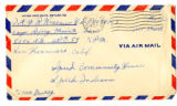 Korean War Letter from W Ralph Kraemer to Jesse G Dorsey 31 Jul 1951
