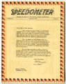 Speedometer 1942 - Newsletter of the Louisville Cement Company, Speed, Indiana