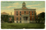 Hanover College, Hanover, Indiana 1914 post card