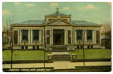 Carnegie Library, New Albany, Indiana 1911 post card