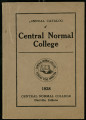 Annual Catalog of Central Normal College  1928