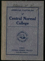 Annual Catalog of Central Normal College  1931