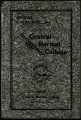 Annual Catalogue Central Normal College 1932