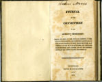 1816 - Journal of the convention of the Indiana Territory