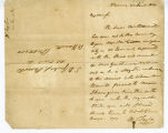 Taylor, William George to Guillermo S. Parrott, January 20, 1830.