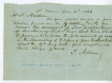 Nelson, Turner to Alexander Maclure, June 16, 1843.
