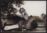 Demolition of the First Baptist Church, Pierceton, Ind., October 8, 1996