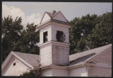 Bell tower of the old First Baptist Church, Pierceton, Ind., ca. 1996