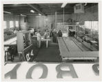 Interior of Johnson Neon Sign Co., South Whitley, Ind., ca. 1960