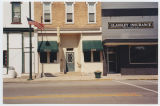 Pizza Stop and Glassley Insurance, South Whitley, Ind., ca. 2000