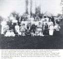 Kelly family reunion, South Whitley, Ind., 1914
