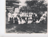 Kelly family reunion, Roann, Ind., 1912