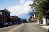 First Street looking north, Pierceton, Ind., 1986