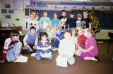 Pierceton Elementary School students in classroom