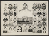 Pierceton School first grade students, 1953-1954