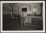 Interior of the Pierceton Creamery, Pierceton, Ind., 1940