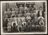 Pierceton first grade class photo, Pierceton, Ind., 1944