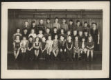 Pierceton second grade class photo, Pierceton, Ind., 1945