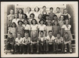 Pierceton fifth grade class photo, Pierceton, Ind., 1948