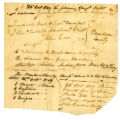 Notes regarding Civil and Military Appointments in Dearborn County, 21 October 1809